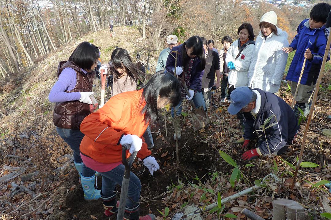 会津若松植林イベント