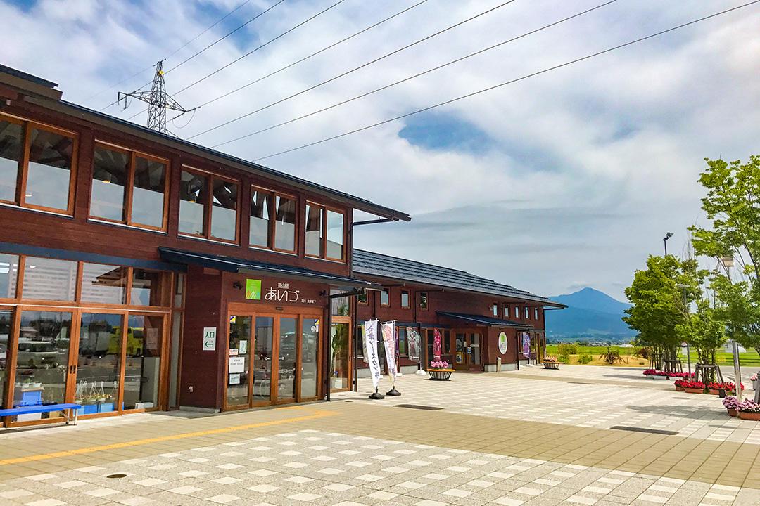 湯川道の駅 地域材木造